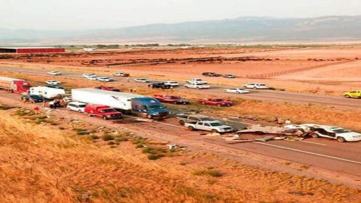Choque múltiple en Utah deja ocho muertos, incluidos niños