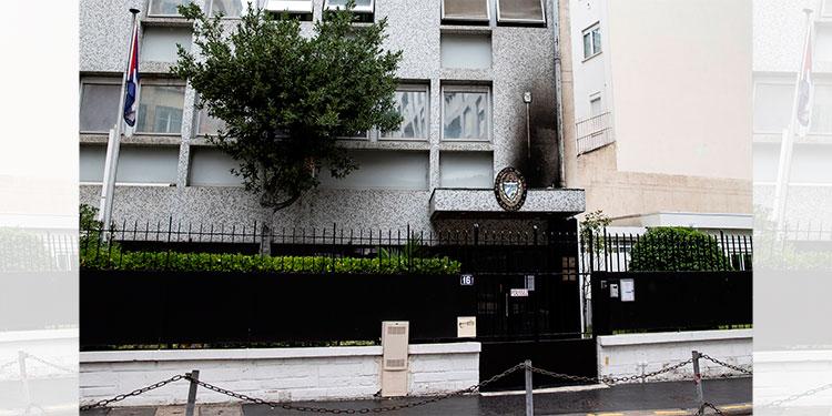 Presidente cubano culpa a EU del ataque contra su embajada en París