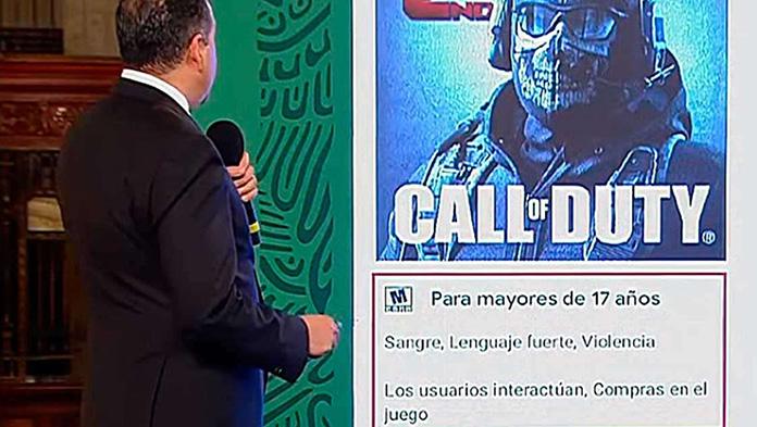 Ricardo Mejía Berdeja, subsecretario de Seguridad Pública, alerta sobre este grupo de videojuegos y explican el modus operandi de estos grupos